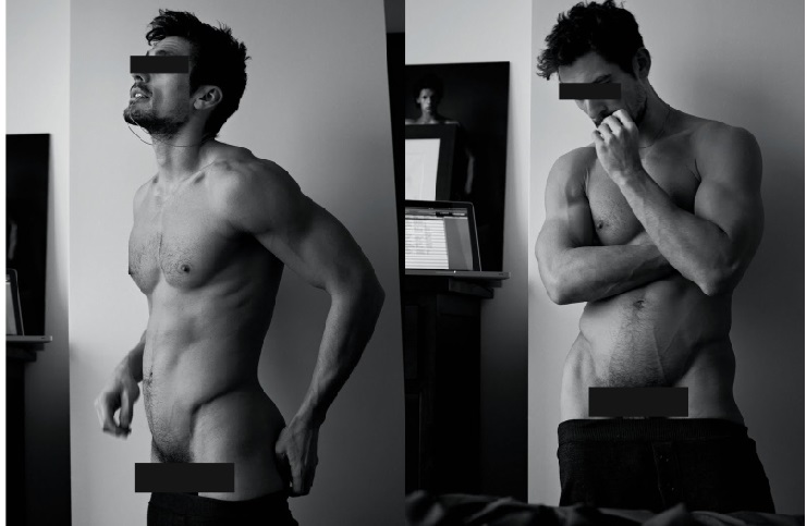 David gandy for Dolce & Gabbana book by mariano vivanco -- metropolitan 10
