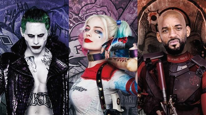Suicide-Squad-The-Joker-Harley-Quinn-Deadshot-character-posters
