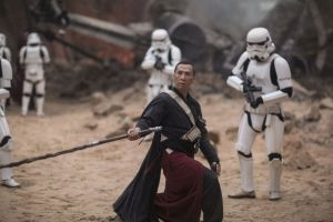 Rogue One: A Star Wars Story..Chirrut Imwe (Donnie Yen)..Ph: Jonathan Olley..
