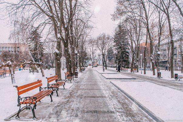 кременуг зима парк