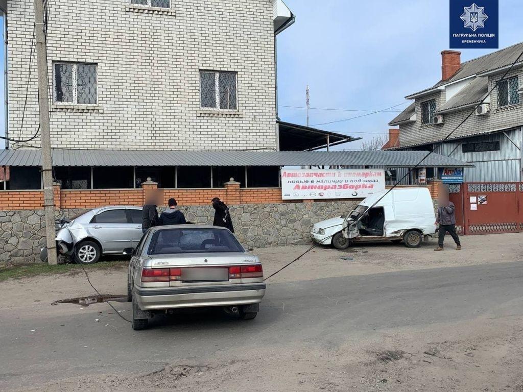 фото патрульної полції Кременчука